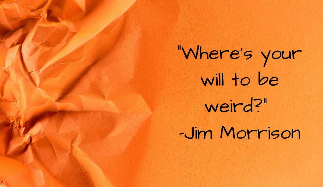 Offbeat Inspirational Quotes for Writers