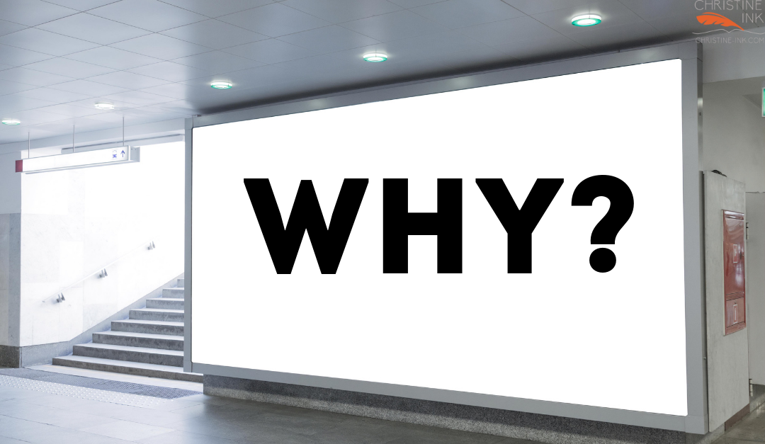 "The ""Why"" Powering Your Book"